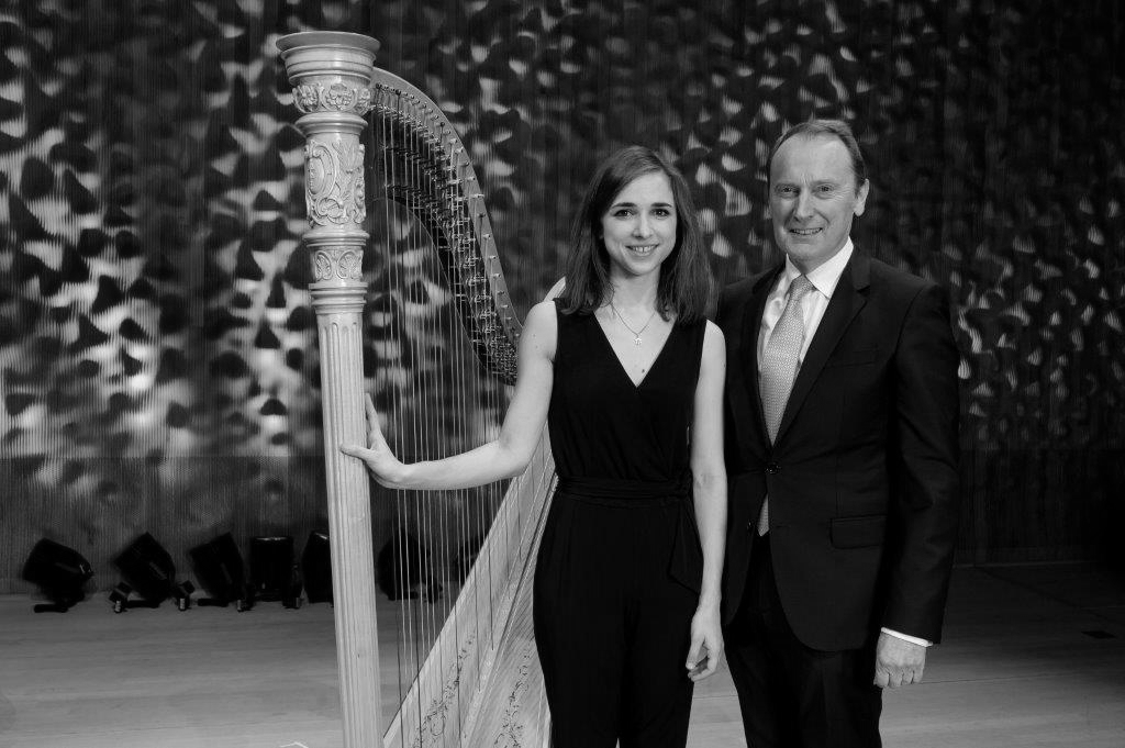 Harpist Anaëlle Tourret awarded Berenberg Culture Prize 2019