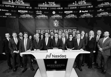 Nasdaq morning bell to celebrate our relocation
