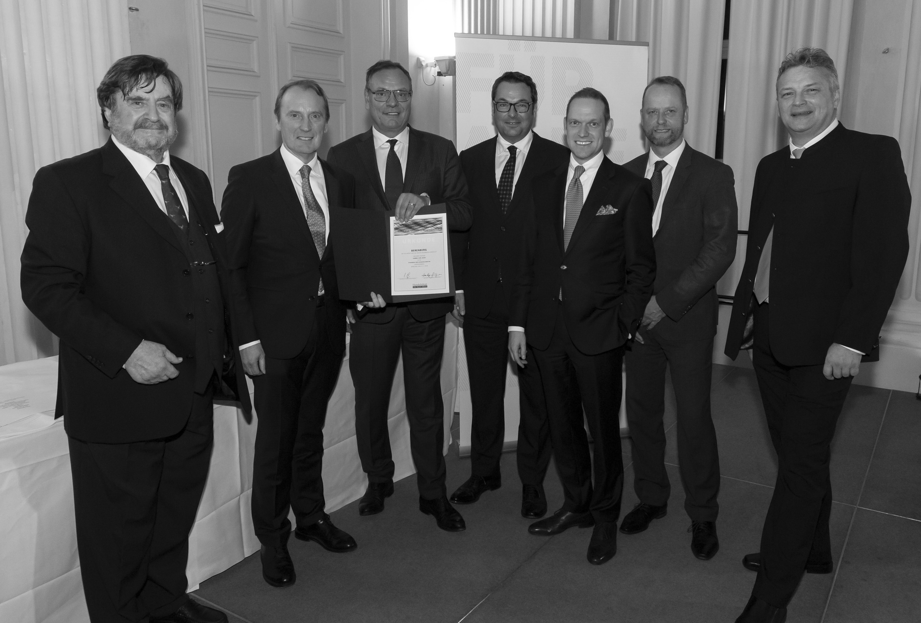 "Elite Report Award 2019: Berenberg again ""Best Asset Manager"""