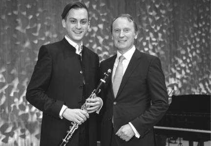 Clarinettist Roman Gerber receives Berenberg Culture Prize 2020